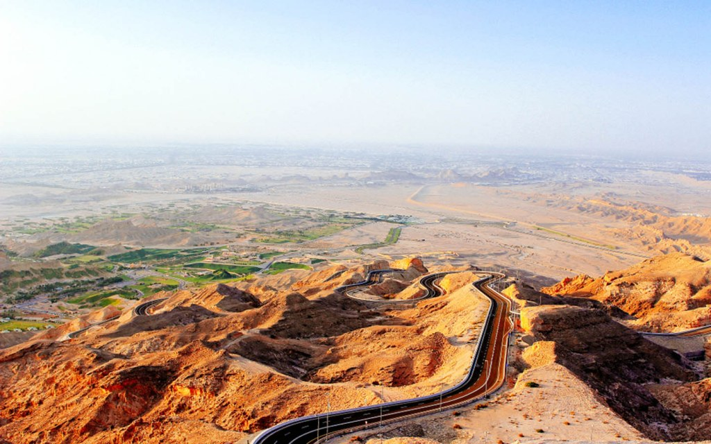 Al Ain is perfect for a road trip in the UAE, with beautiful mountain, lush greenery and plenty of history