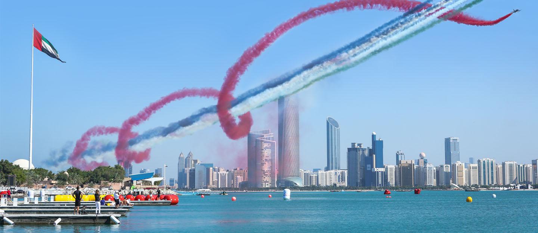 Air Show at Al Bahar