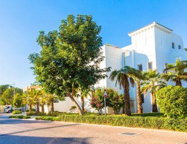 Exterior view of Al Barari villa