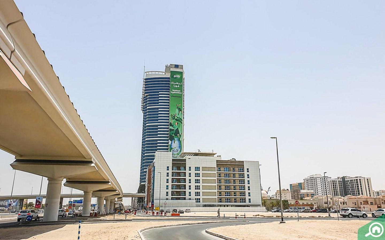 Metro stations near Al Barsha