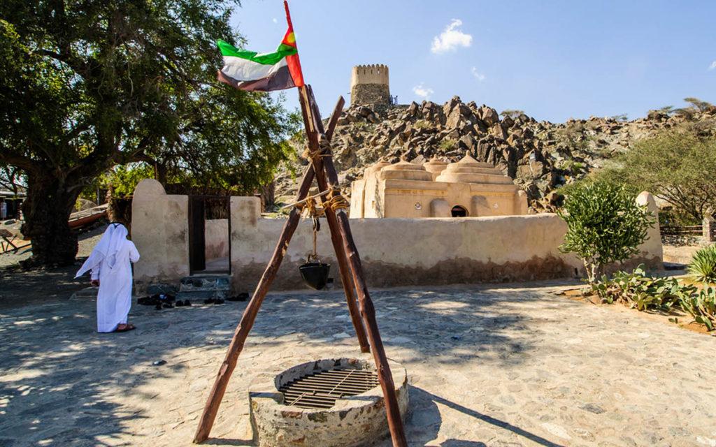 The Al Bidya Mosque in Fujairah