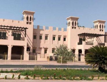 Street view of Al Hamra Village villas