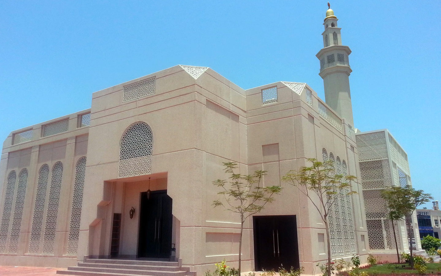 Outside view of Al Kareem Mosque