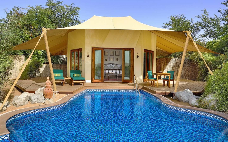 Al Maha Bedouin retreat with luxury rooms