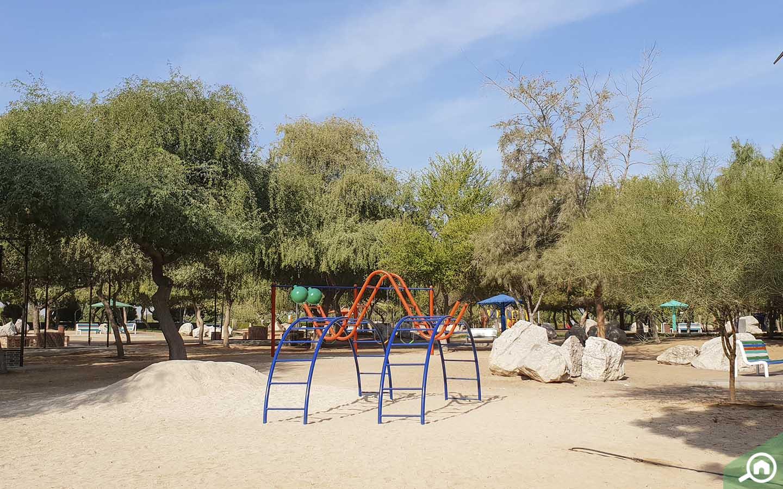 Play area in Al Mamzar Beach Park