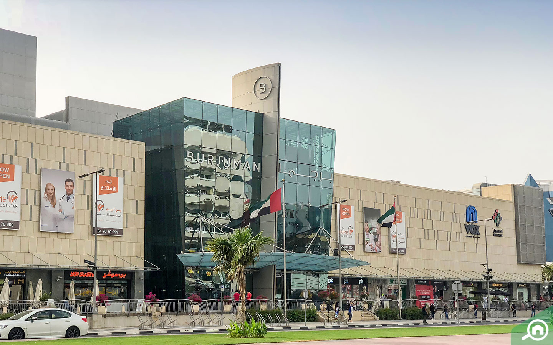 Burjuman Mall in Bur Dubai