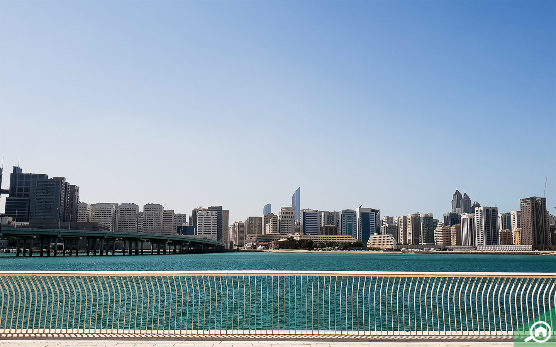 Promenade on Al Maryah Island Abu Dhabi