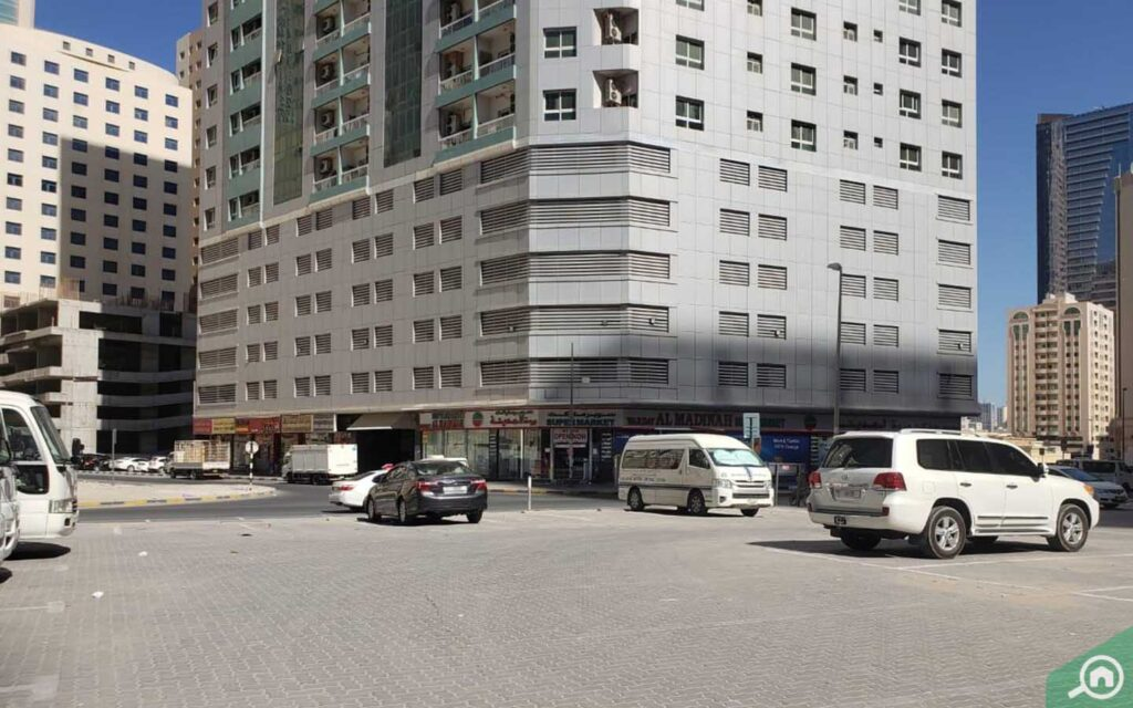 Buildings in Al Nahda