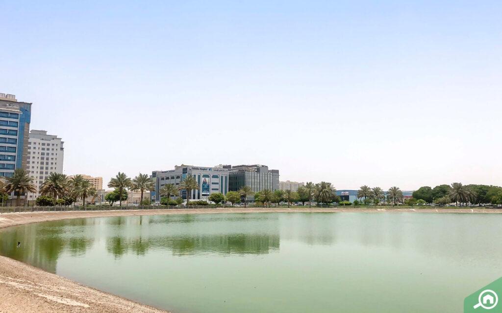حديقة بحيرة النهدة دبي