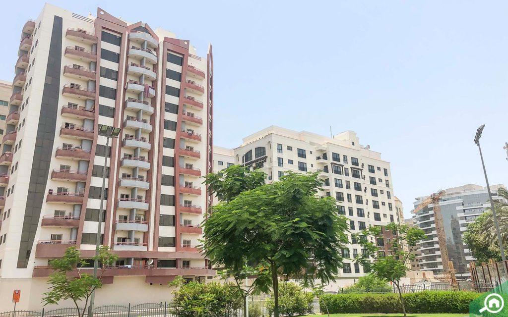 Apartment buildings in Al Nahda Dubai