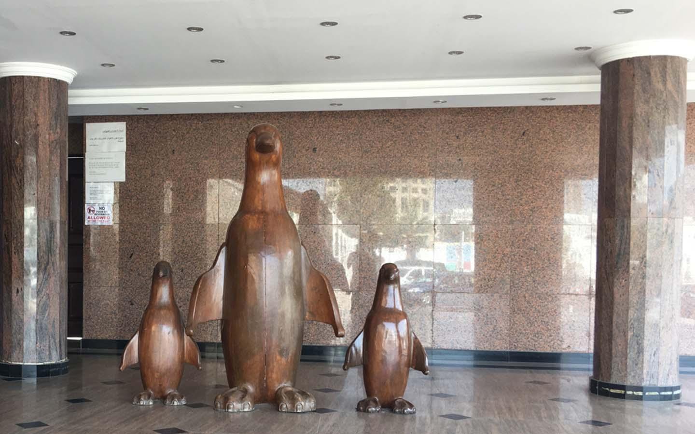Reception and lobby area at Al Nasr Leisureland