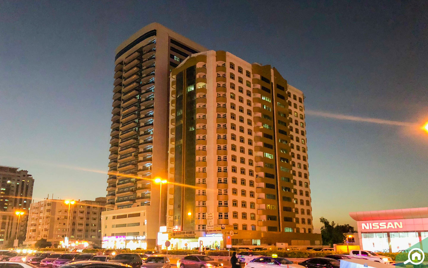 apartment buildings in Al Nuaimiya