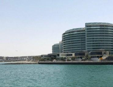 view of apartment buildings in Al Raha Beach