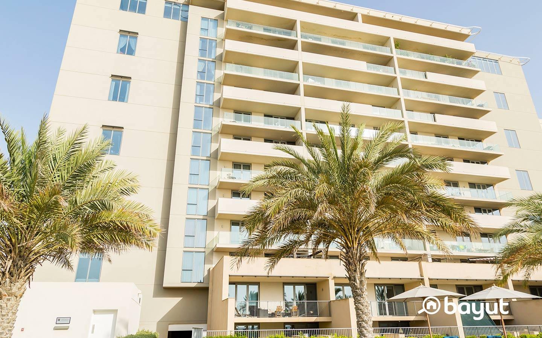 Al Raha Beach apartment building