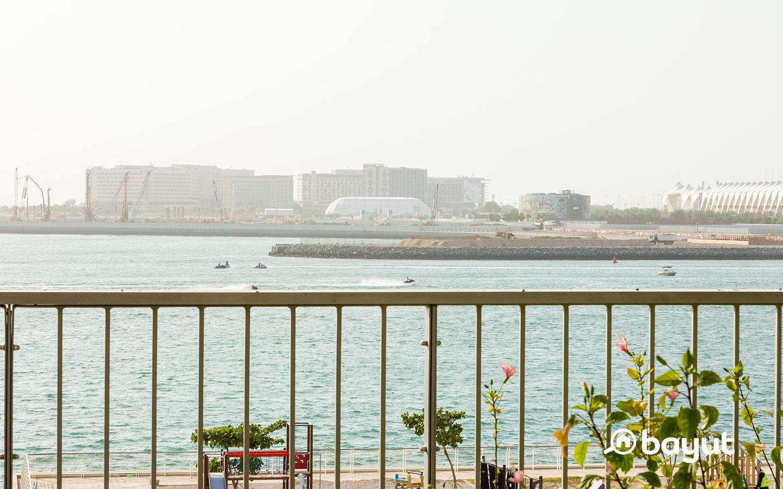 Cranes in Al Raha Beach