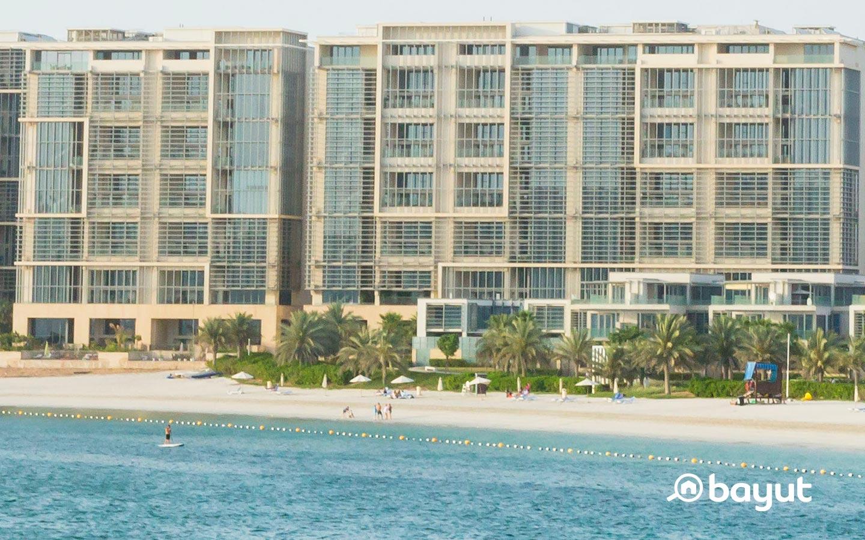 Buildings in Al Raha Beach
