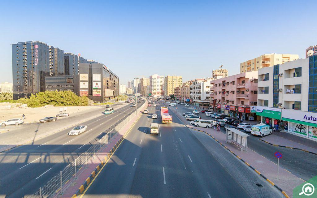 Public parking Al Rashidiya