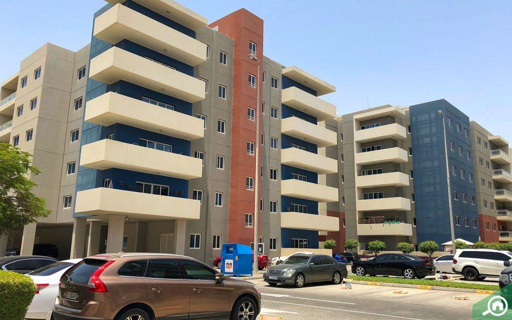 apartment complex in Al Reef