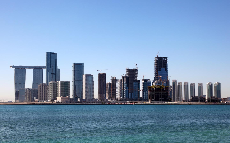 Al Reem Island skyline, Abu Dhabi, UAE, Renting in Al Reem Island