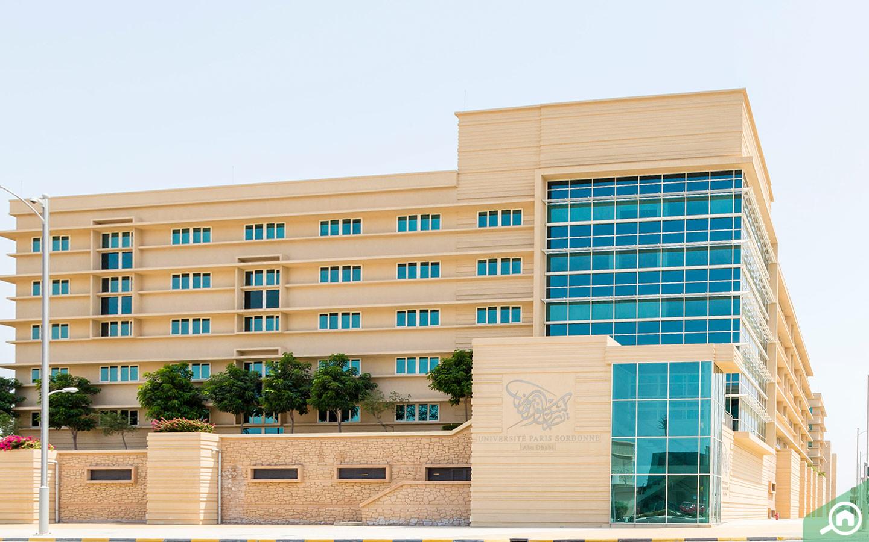 Sorbonne University on Al Reem Island