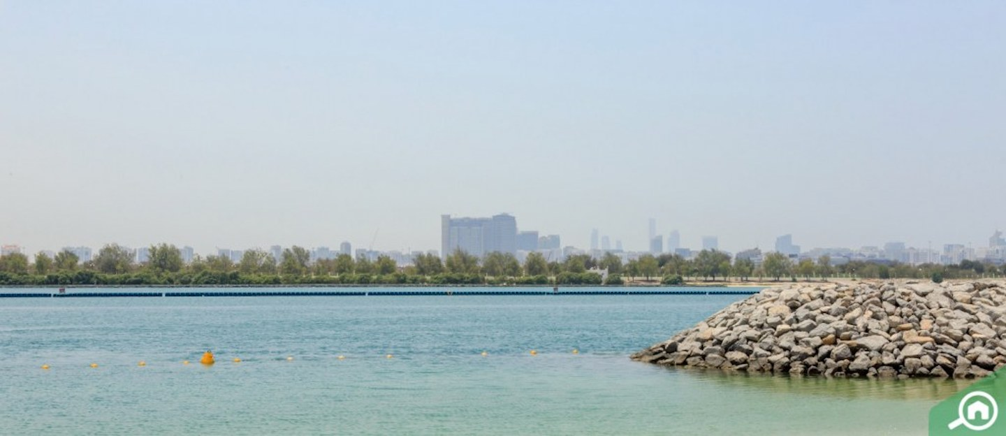 View of Al Reem Island