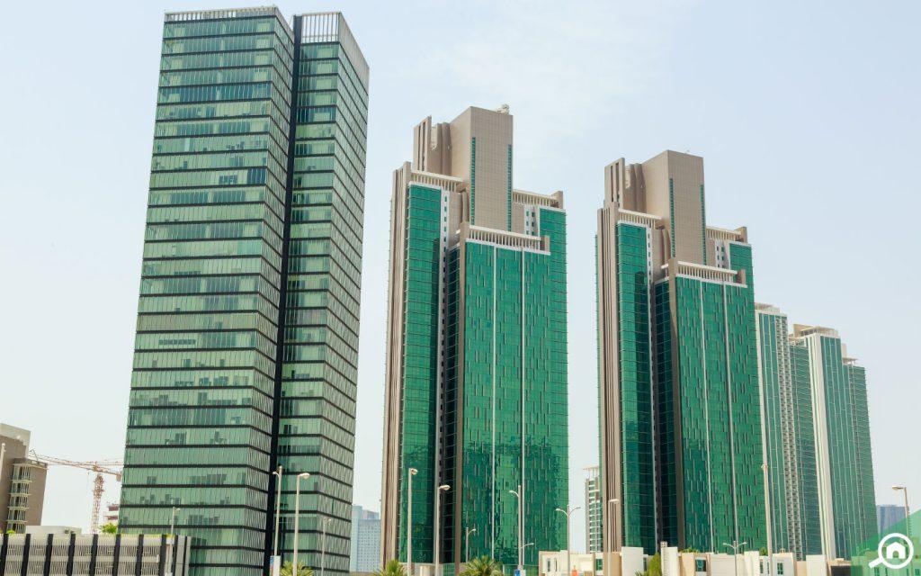 Buildings in Al Reem Island