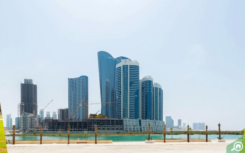 Buildings on Al Reem Island