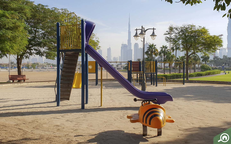 Play areas in Al Safa Park
