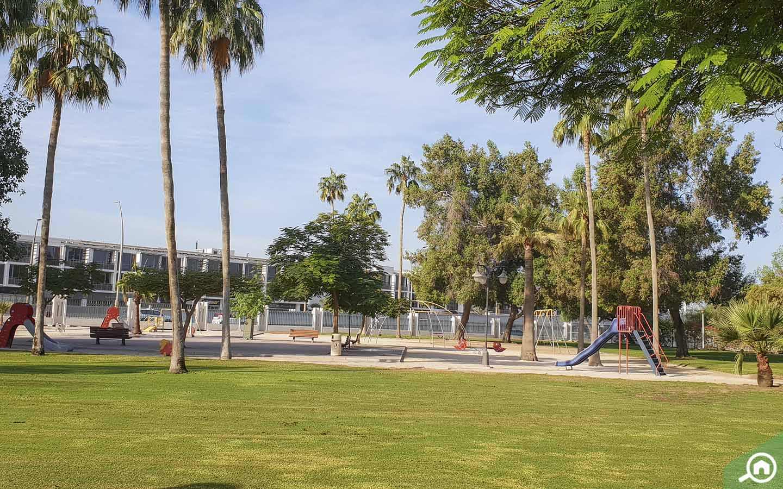 Green Lawns in Al Safa Park in Dubai