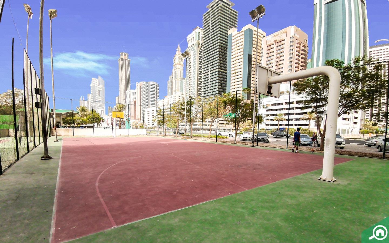 Al satwa park basketball court