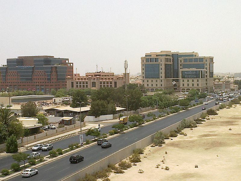 Panoramic view of Al Khalidiya. Image By: Mohammad Waqas Ahmad