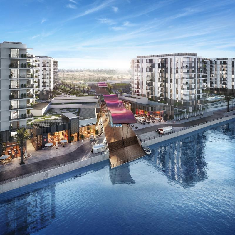 The Stunning Water's Edge development in Yas Island by Aldar will be showcased at Cityscape Global 2017