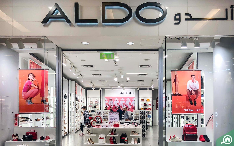 Aldo store in dubai marina mall