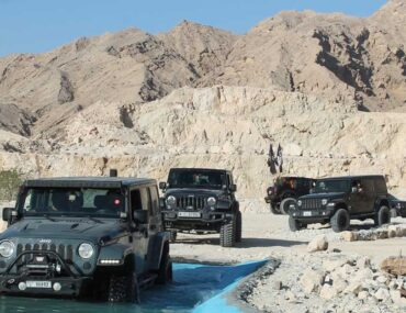Xquarry Off-Road and Adventure Park in Sharjah