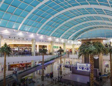 Interior shots of Bawadi Mall