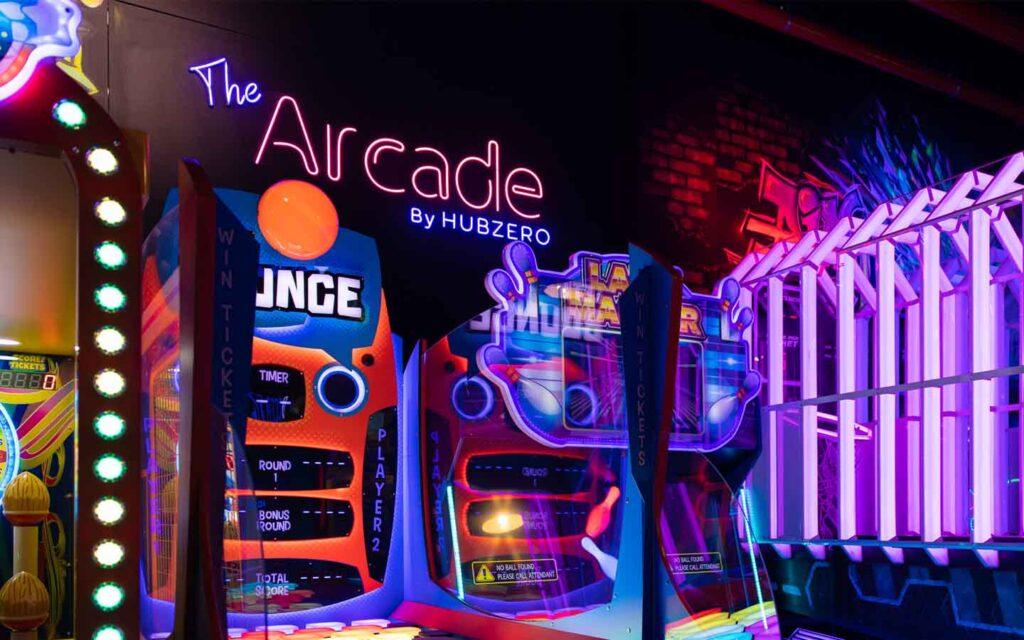 The Arcade by Hub Zero indoors