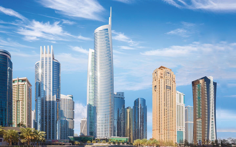 Tallest office-use tower in Dubai