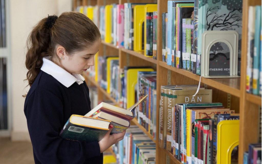 Library in American School in Dubai