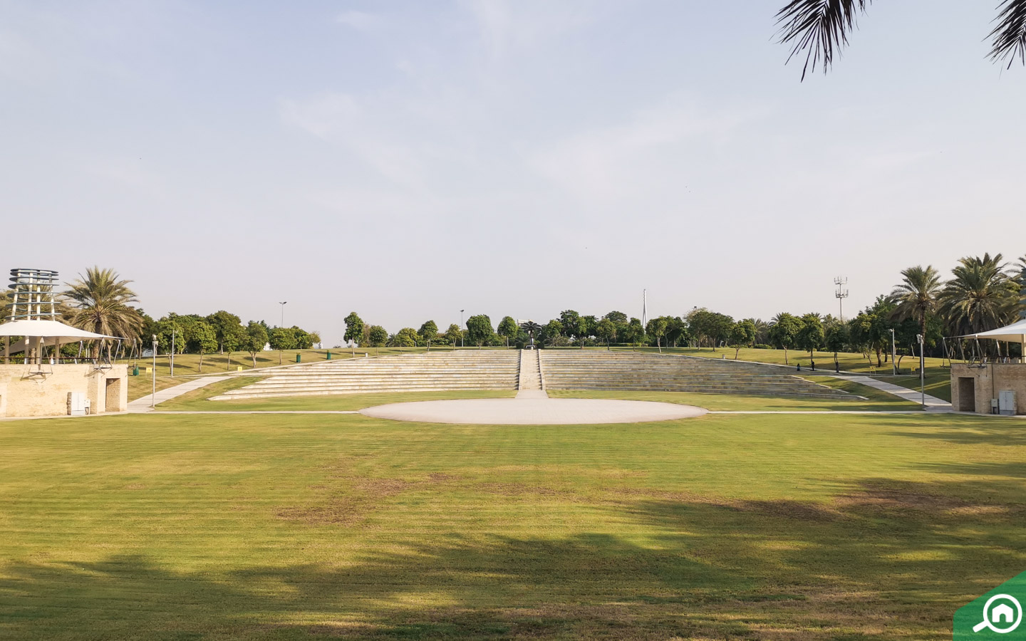 Amphitheatre at Zabeel Park in Dubai