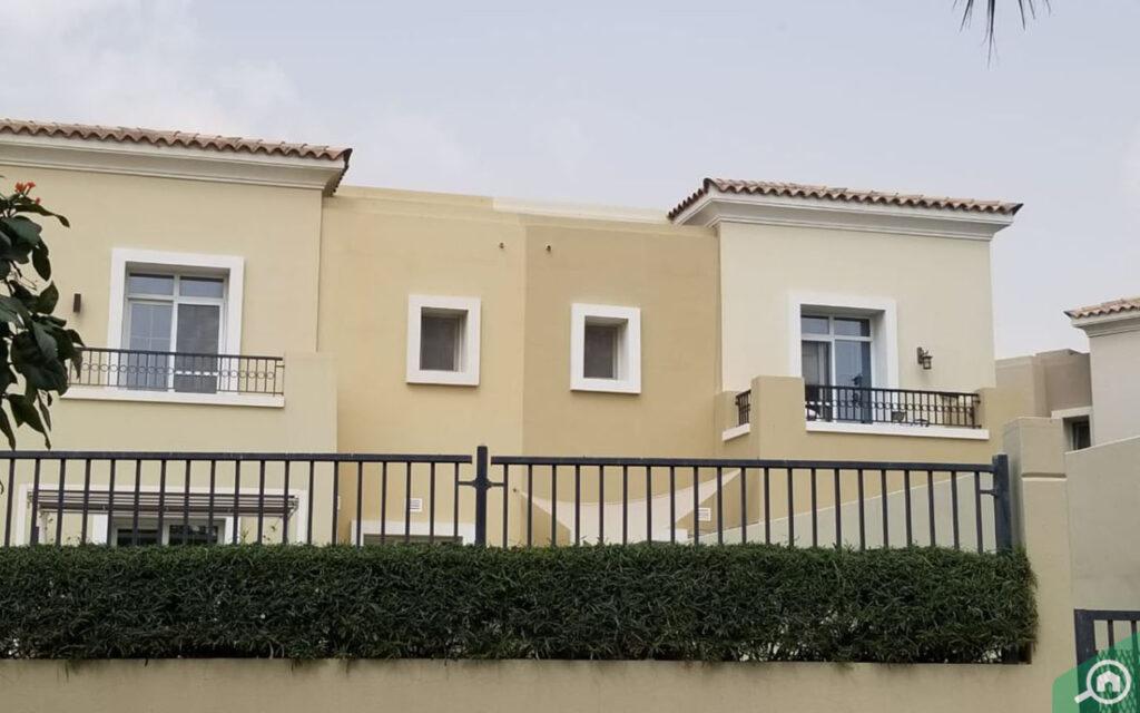 a villa in Arabian Ranches