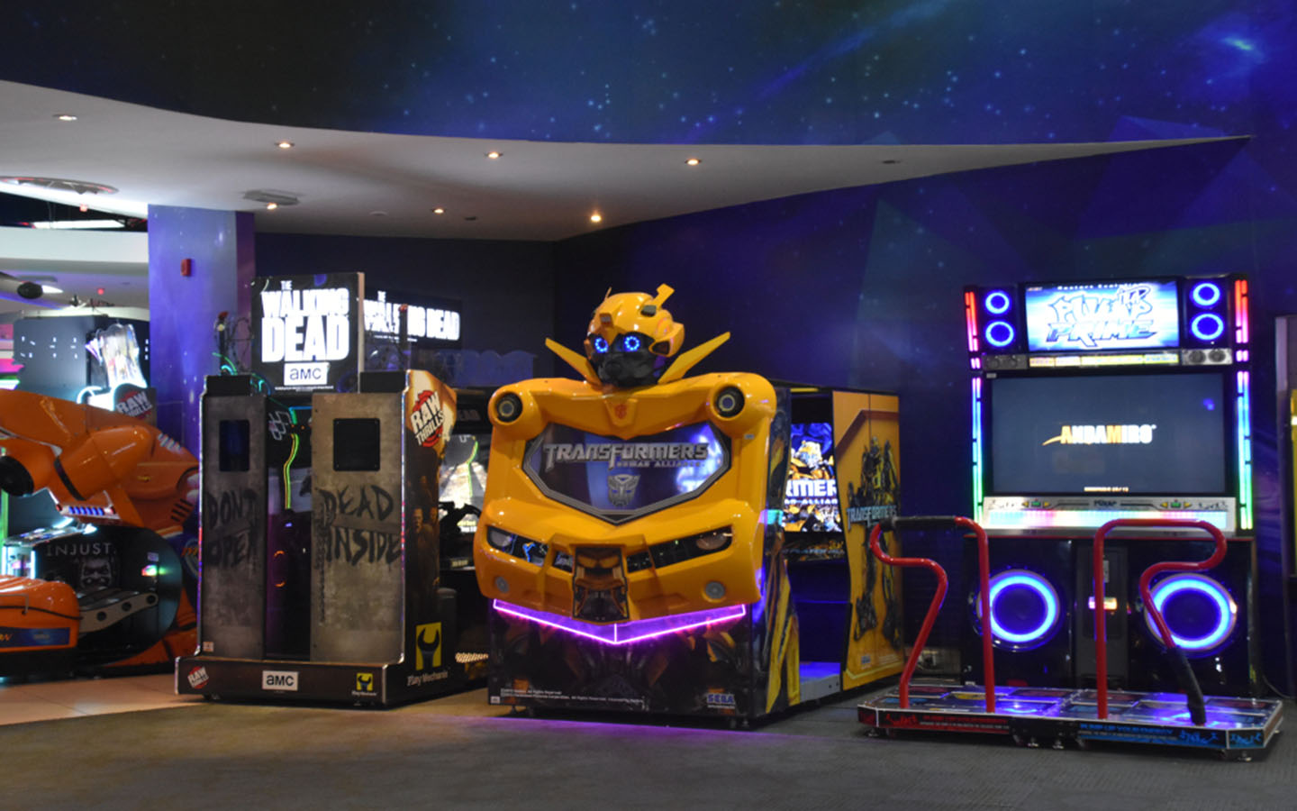Arcade games magic planet dubai