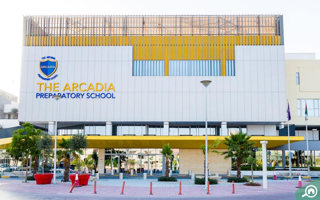 Arcadia School in Jumeirah Village triangle