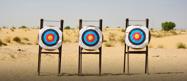 Desert archery dubai