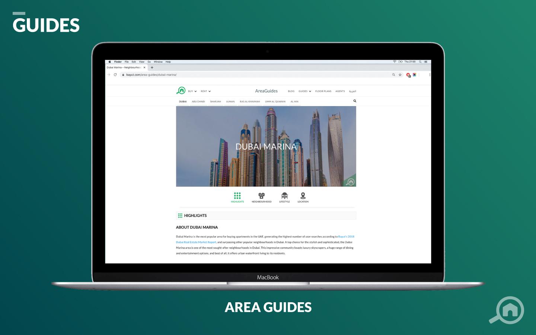 Bayut UAE area guides