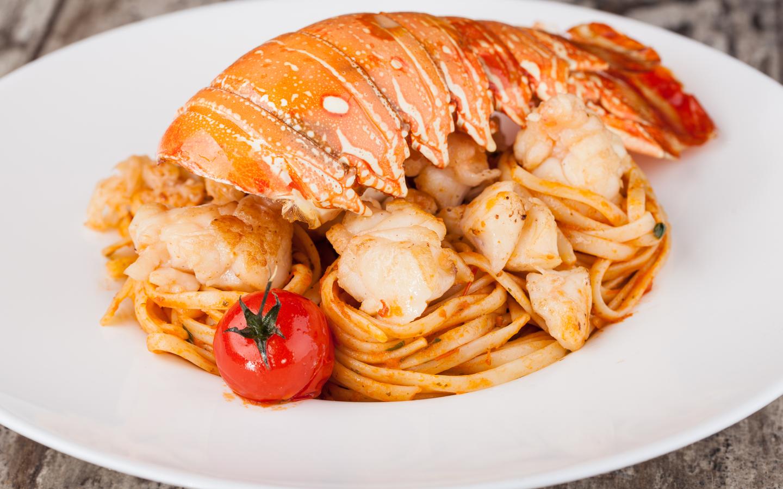 Tasty lobsters by Armani Ristorante