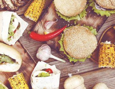 Array of Dubai street foods from around the world