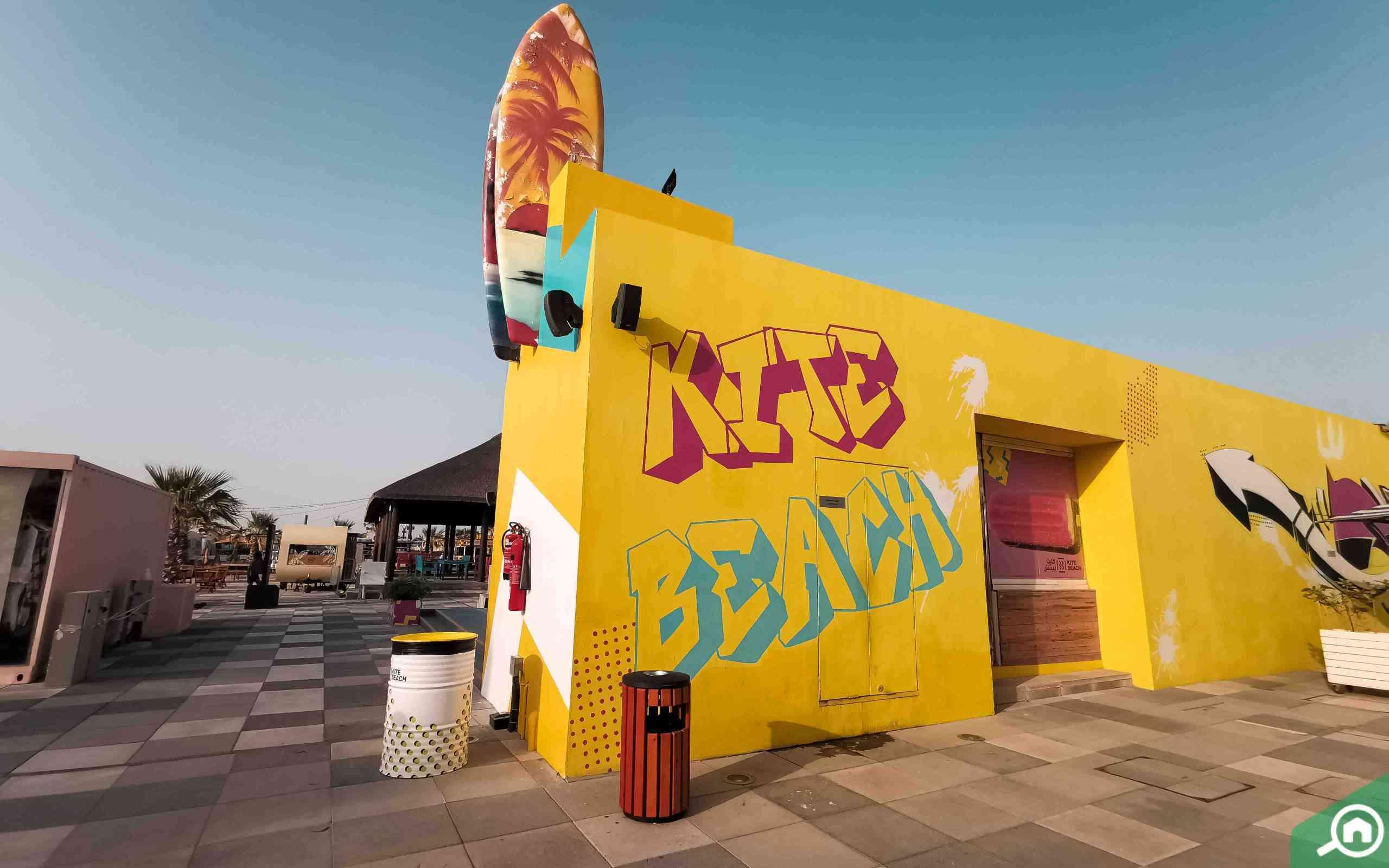 surfboard on wall