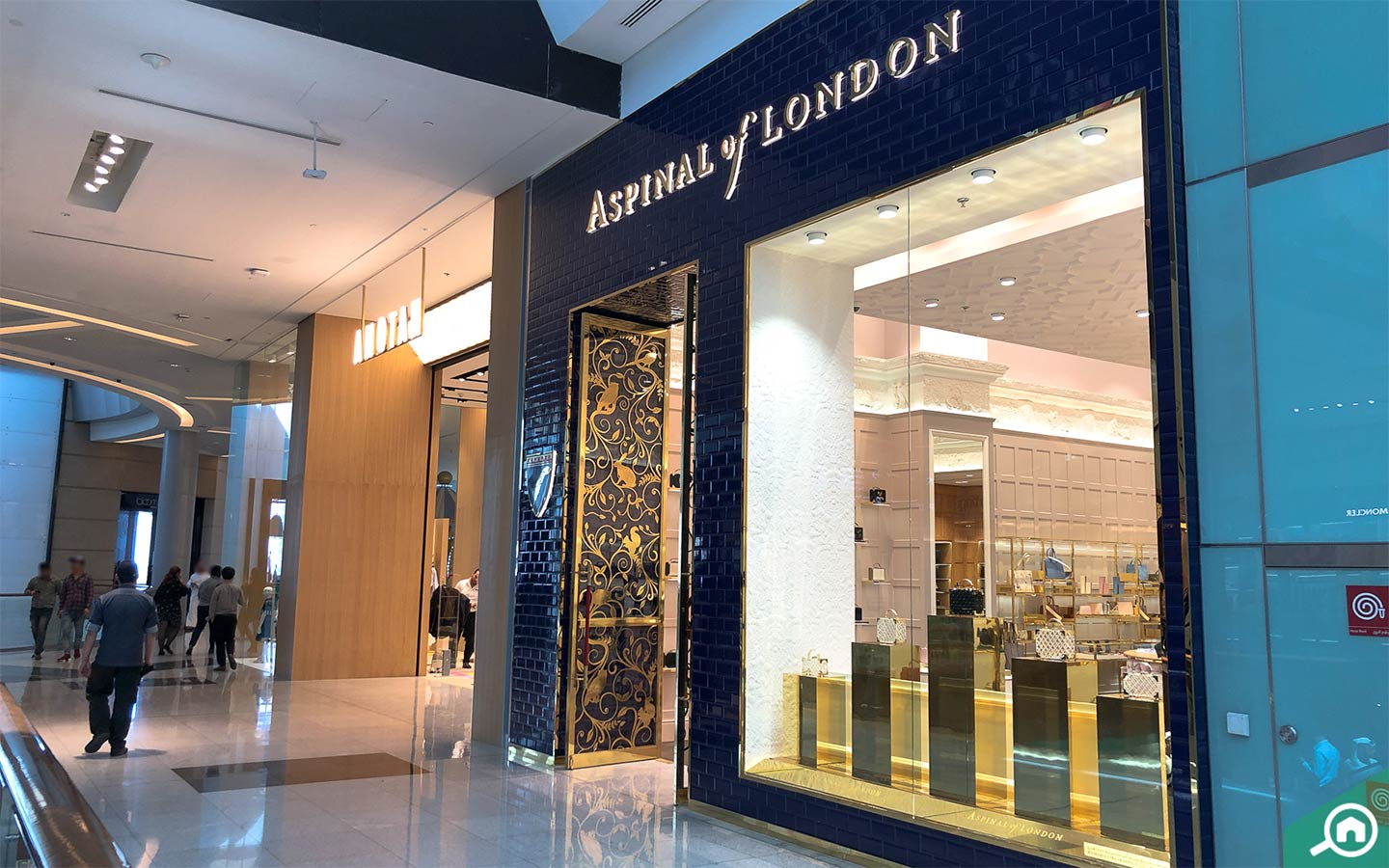 Aspinal Of London Shop in Dubai MAll