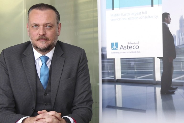 John Stevens, Managing Director of Asteco