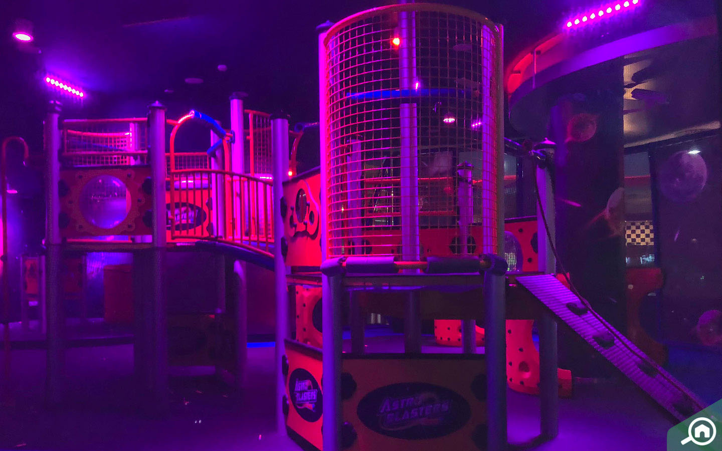 Astro Blasters in Magic Planet in Dubai